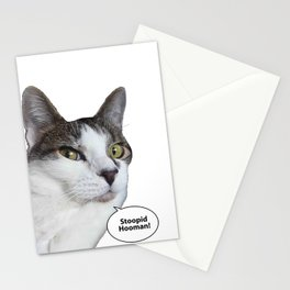 "Pollux says ""Stoopid Human!"" Stationery Cards"