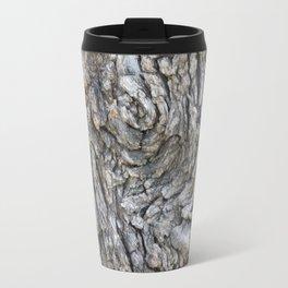 TEXTURES -- Blue Elderberry Bark Travel Mug