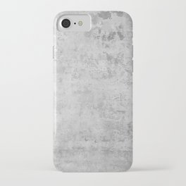 concrete wall vintage grey background,  wall texture * iPhone Case