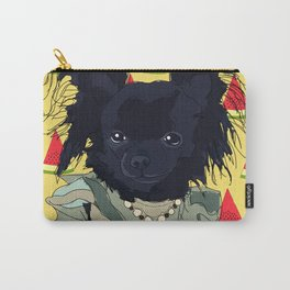 Watermelon Chihuahua Carry-All Pouch
