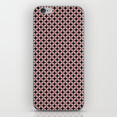 Pink Black Star Pattern iPhone & iPod Skin