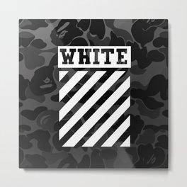 off-white bape camo Metal Print