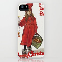 Peace, Love and Hope at Christmas iPhone Case
