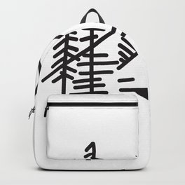 Simple Natural Scenery Backpack