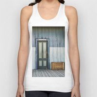 bathroom Tank Tops featuring Bathroom Doors by Agrofilms