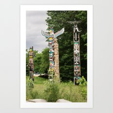 totems. Art Print