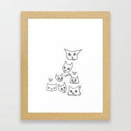 Cats Cat Framed Art Print