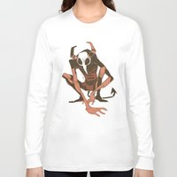 musa Long Sleeve T-shirts featuring lurk by musa