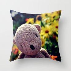 Palin Bear Throw Pillow