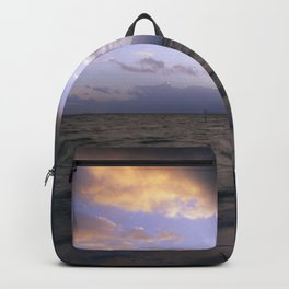 sunset in cuba Backpack