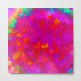 Little rainbow, big pink .. Metal Print