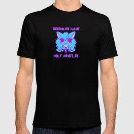 Werewolves against wolf whistles T-shirt