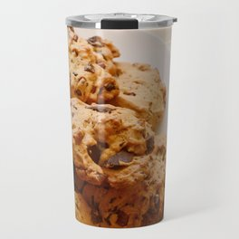 Chocolate chip and pecan cookies Travel Mug