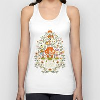 alice in wonderland Tank Tops featuring Wonderland by rosekipik