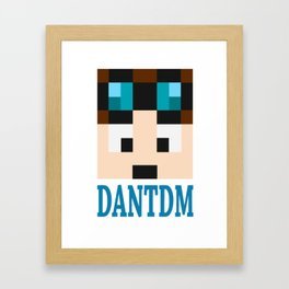 dantdm Framed Art Print
