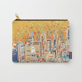 philadelphia city skyline Carry-All Pouch