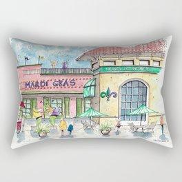 Mardi Gras N'Awlins Rectangular Pillow