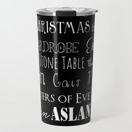 Narnia Celebration - black Travel Mug