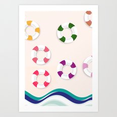 I want summer now Art Print