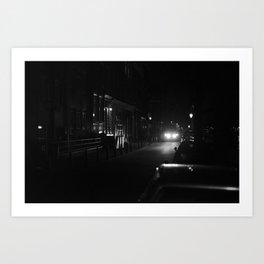 Amsterdam in the Dark Art Print