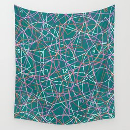Geometry and math abstract pattern Wall Tapestry