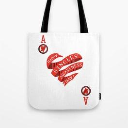 Happy Singles' Awareness Day! Tote Bag