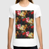 baroque T-shirts featuring baroque flora by arielle morris