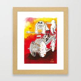 Giacon Massimo for Mad Max Fury Draw Framed Art Print