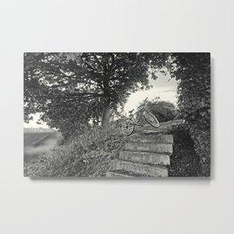 Kickstand Metal Print