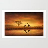 Dreaming of Africa Art Print