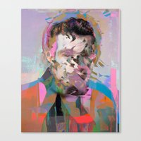 tchmo Canvas Prints featuring Untitled 20150527u by tchmo