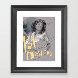 pat metheny Framed Art Print