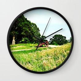 Yorktown Battlefield Wall Clock