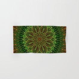 Earth Flower Mandala Hand & Bath Towel
