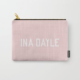 INA DAYLE - blush tones Carry-All Pouch