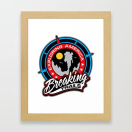 BT EXPLORING AMERICA Framed Art Print