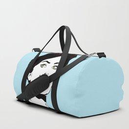 Sophia Moustache Duffle Bag