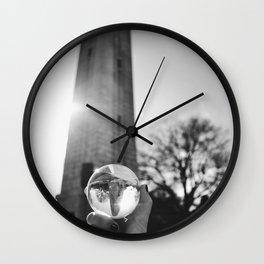 Memorial Bell Tower Wall Clock