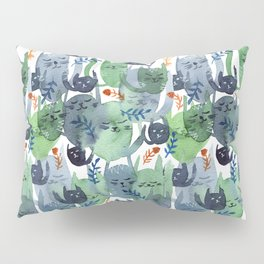 A Quiet Cacophony of Cats Pillow Sham