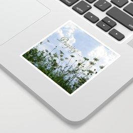 Flower Ridge Sticker