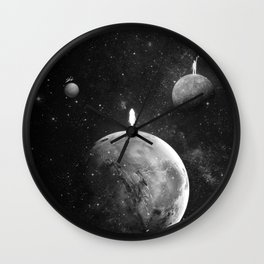 The distance of wishing.  Wall Clock