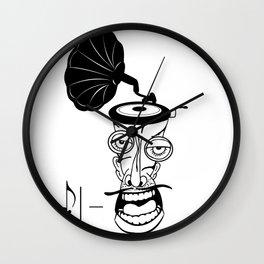 Music In My Head Wall Clock
