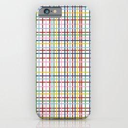 Rainbow Weave iPhone Case