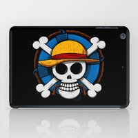luffy iPad Cases featuring On pirate by le.duc