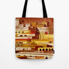 The fortress at sunset Tote Bag