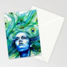 Metamorphosis-peacock Stationery Cards