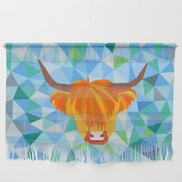 Highland Cow Wall Hanging