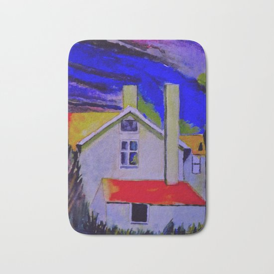 House In The Woods Bath Mat