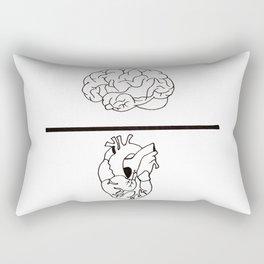 Mind over Matter Rectangular Pillow