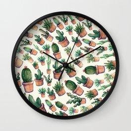 cactus big invasion!! Wall Clock